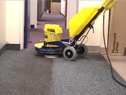 Encapsulation carpet cleaning